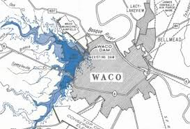 map waco highway history of waco us ends