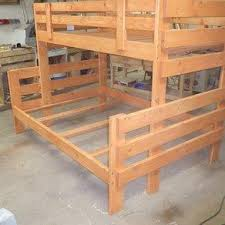 Twin Over Full Loft Bunk Bed Plans by How To Build Bunk Bed Plans Twin Over Full Download Modern Bed