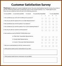 customer satisfaction report template customer satisfaction survey template exle photos pretty