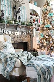 Christmas Decorations For Homes Top 25 Best Turquoise Christmas Ideas On Pinterest Turquoise