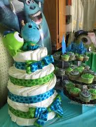 monsters inc baby shower cake baby shower decorations cake baby girl or boy monsters