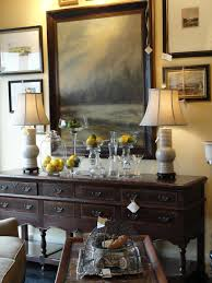 decorating dining room buffet
