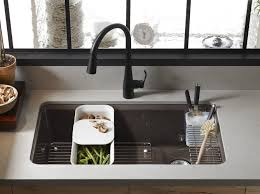 kohler verse sink review single bowl kitchen sinks contemporary glacier bay all in one drop