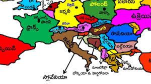 Cartoon World Map by Prapancha Patamulu Baala Siksha Telugu World Map World Map