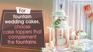 wedding cakes with fountains unique wedding cakes with fountains that will astonish your guests