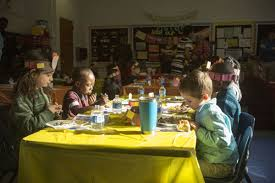 around thanksgiving teachers must walk line between myth and fact