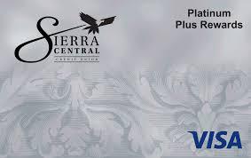 visa sierra central credit union