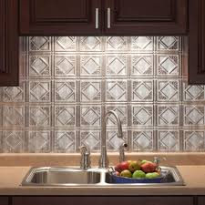 sink faucet tin backsplash for kitchen thermoplastic herringbone