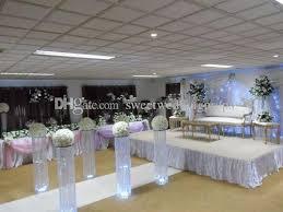 Wedding Mandap For Sale Customized L Crystal Wedding Columns Mandap Pillars For Sale