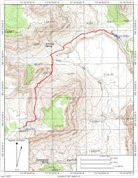 Declination Map Photo Map April 2014 Day Hiking The Tuckup Trail To The