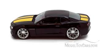 camaro car black chevy camaro ss black yellow toys bigtime 92121 1