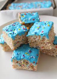 gluten free birthday cake birthday cake rice krispie treats dairy free gluten free fck