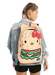 kitty backpacks merchandise u0026 clothes topic