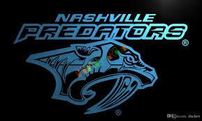 2017 ld092 nashville predators neon light sign home decor crafts