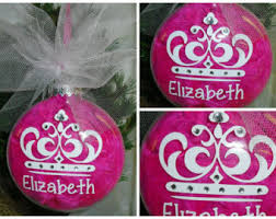 princess ornament etsy
