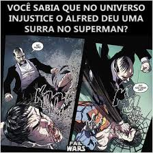 Alfred Meme - toma superman morre pro doomsday e apanha pro alfred meme by