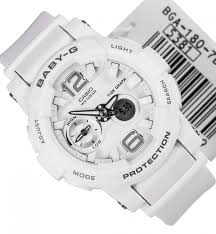 Jam Tangan Baby G Asli jual jam tangan casio baby g bga 180 original white jam tangan