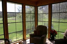 Windows For Porch Inspiration Screen Room With Ezebreeze Windows By Wheaton Il