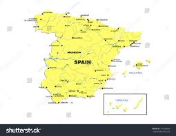 Burgos Spain Map by Simple Map Spain Stock Illustration 149290868 Shutterstock