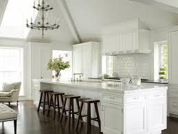 white kitchen with long island kitchens pinterest 216 best white painted kitchens images on pinterest kitchens