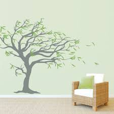 similiar wall tree keywords tree blowing the wind wall decal