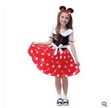 Halloween Costumes Mickey Minnie Mouse 3 Sizes Mickey Minnie Mouse Dress Kids Halloween Costumes