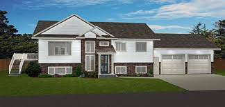 bi level home plans bi level house plans split level home plans edesignsplans ca