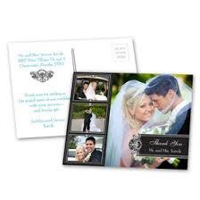 wedding thank you postcards wedding thank you cards s bridal bargains