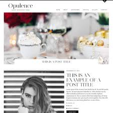 Opulence I Has It Opulence A Luxury Wordpress Theme By Pipdig