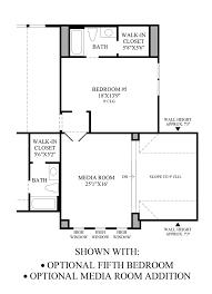Room Addition Floor Plans Terracina At Flower Mound The Vanguard Home Design