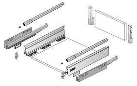 cassetti per cucina cassetti per mobili e cucina in kit ferramenta spanò