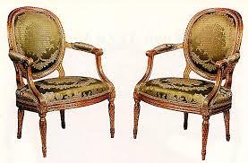 les sièges de louis xvi à modern style en images meubles anciens