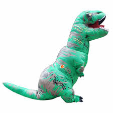 dino halloween costume t rex inflatable costume sixty six depot