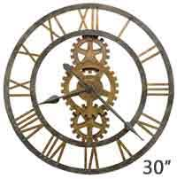 Giant Wall Clock Large Wall Clocks Over 25 Inches In Diameter The Clock Depot