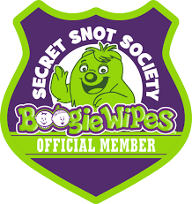 Ready To Ship Wipe Your Secret Snot Society Boogie Wipes