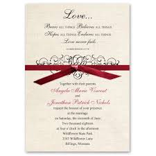 rustic love invitation ann u0027s bridal bargains