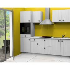 coloris cuisine cuisine équipée elisabeth 2 l255cm coloris blanc pas cher à prix