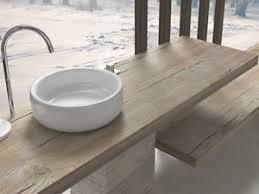 mensola lavabo da appoggio mensole per lavabo da appoggio arredo bagno finiture legno pietra