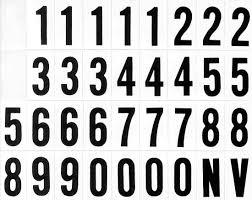 free number letter stickers stock photo freeimages com