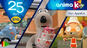 Bon Appetit Kitchen Collection Bon Appétit Animation For Kids 25 Minutes Youtube