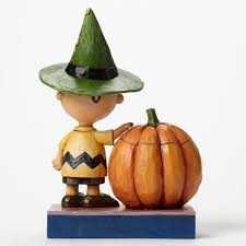 halloween figurine it u0027s halloween charlie brown charlie brown with pumpkin figurine