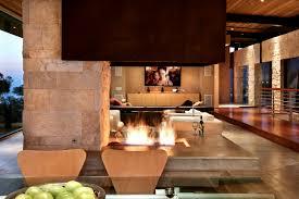 20 amazing stone fireplace designs
