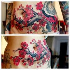 pictures of tattoos to cover stretch marks on stomach google