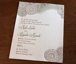 Indian Wedding Invitation Indian Wedding Invitation Card Design Gallery Anshi