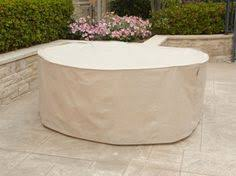 Covermates Patio Furniture Covers by Project Patio 112 Inch Deluxe Round Cup Insert Glide End Cap For