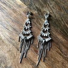 pearl chandelier earrings nwt pearl chandelier earrings from