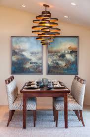 Oversized Pendant Light Splashy Corbett Lightingin Dining Room Transitional With Appealing