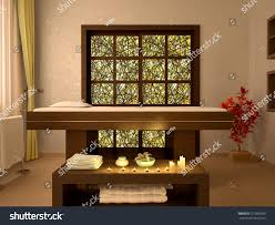 3d illustration nice massage room spa stock illustration 377005699