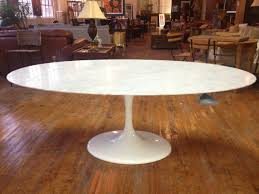 cool design oval marble dining table all dining room
