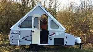 a frame chalet chalet inc u0027s a frame trailer patented lever lift system youtube